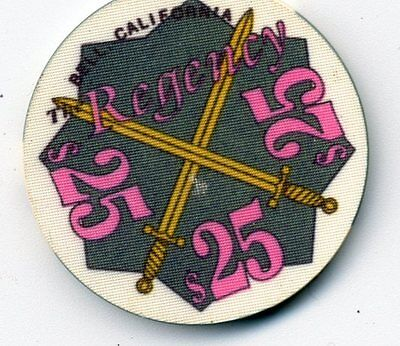 Regency Bell Ca  Casino $25  Casino  Chip