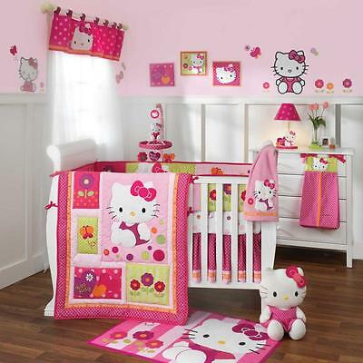Hello Kitty Garden 5 Piece Baby Crib Bedding Set by Lambs & Ivy