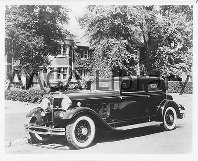 Ref. # 29861 1931 Cadillac 370A V6 Rollston Town Car Factory Photo ...