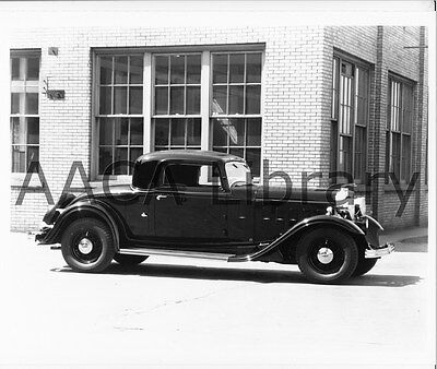 1932 Lincoln KA Touring Car Ref. #53196 Factory Photo Picture