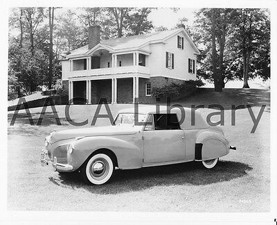 1941 Lincoln Continental Cabriolet, Factory Photo / Picture (Ref. #53303)