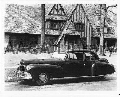 1946 Lincoln Continental Coupe, Factory Photo / Picture (Ref. #53369)