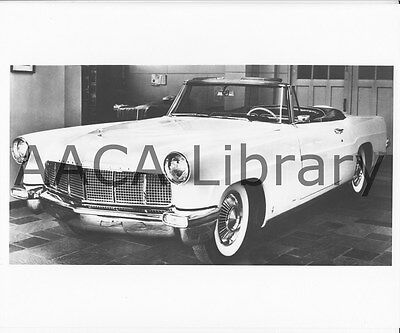 1956 Lincoln Continental Mark II Convertible Coupe, Factory Photo (Ref. #53701)