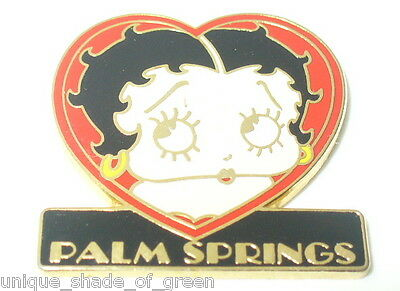 Betty Boop/palm Springs Pin
