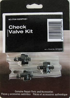 Wagner Spraytech 0297051 or 297051 HVLP Check Valve Kit OEM