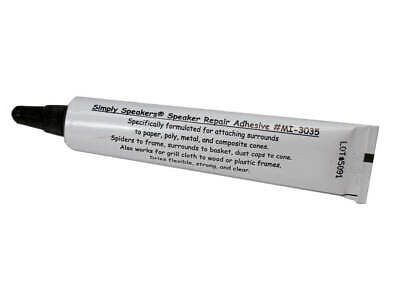 Special Speaker Repair Glue - Best Adhesive for Foam Edges Dust Caps MI-3035