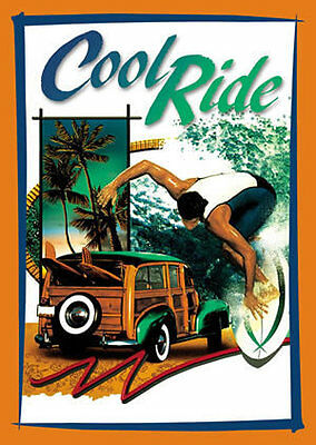 Cool Ride Woody Hot Rod and Surfer Tin Metal Sign AW10  Choice of 500 Signs