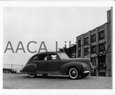 1940 Lincoln Zephyr Fordor Prototype, Factory Photo / Picture (Ref. #52834)