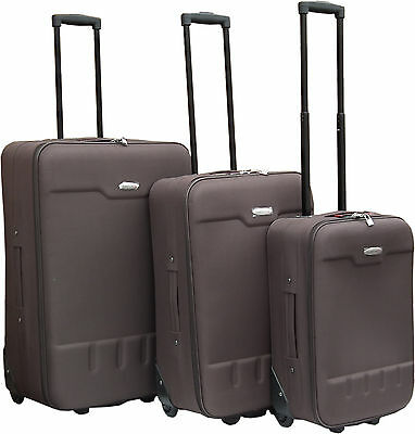 Light Cabin Travel Trolley Suitcase Luggage Bag Large Medium Small Baggage Case