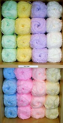 James C Brett Super Soft Baby Aran Knitting Wool / Yarn - 100 grams