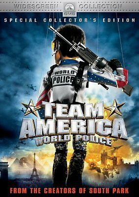 TEAM AMERICA WORLD POLICE DVD SPECIAL COLLECTOR'S EDITION BRAND NEW