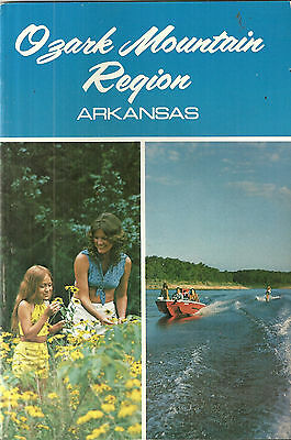 Ozark Mountain Region Arkansas Travel Guide Harrison Diamond City Bull Shoals
