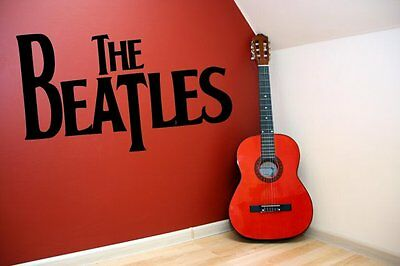 Classic stylish The Beatles vinyl stickers wall decorations mural decal NEW UK