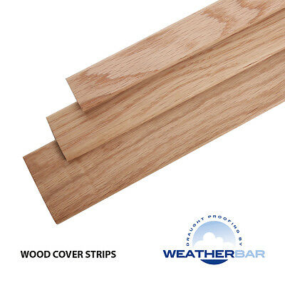 Solid Oak Coverplate Door Bars / Threshold Strip / Flooring Profile / Gap Cover