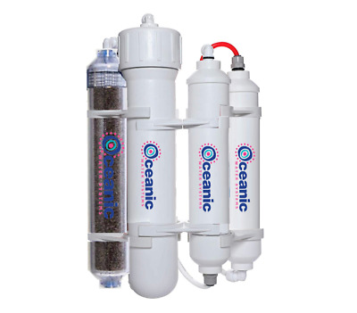 Oceanic Water Heavy Duty Aquarium Reef Reverse Osmosis Water Filter System 75GPD
