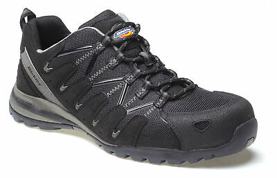 Dickies Tiber Safety Trainers Black Size 6-12 Composite Midsole & Toecap FC23530