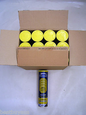 Tennis Balls(48 Slazenger Championship Hardcourt Hydroguard balls in cans of 4)