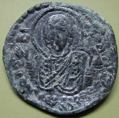 "Byzantine ANONYMOUS CHRIST  FOLLIS MARIA VIRGIN ""Scarce"" (UY7)"