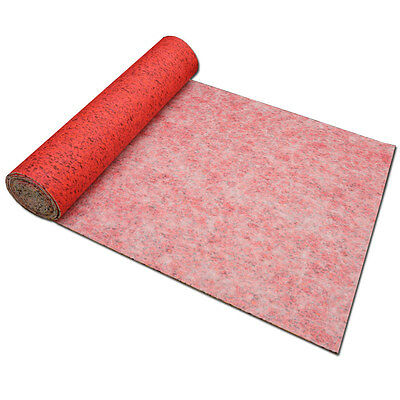 8mm Cheap Carpet Underlay - Lounge, Bedroom & Stairs - Full Roll - 15 M² - NEW
