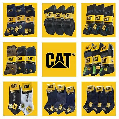 CAT Caterpillar MEGA-AUSWAHL, Arbeitssocken,Sneakersocken, Businesssocken,Socken