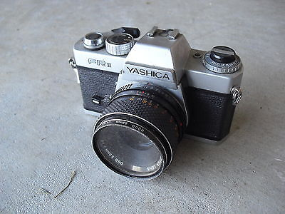 Vintage 35mm Yashica FR II Camera with DSB 50mm 1:1.9 Lens