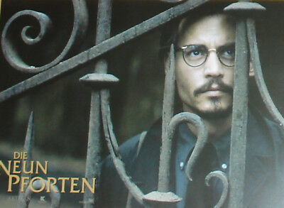 THE NINTH GATE - Lobby Cards Set - Fotosatz - Johnny Depp, Emmanuelle Seigner