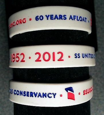 60th ANNIVERSARY LIMITED EDITION SS UNITED STATES WRISTBAND!  NEW!  SOS!!!