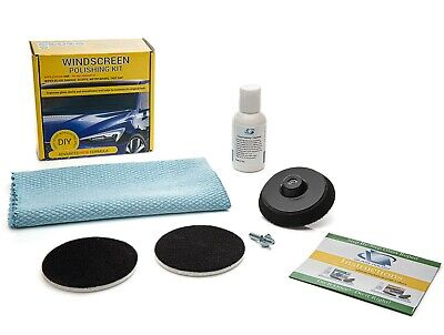 Windscreen Polishing kit, Wiper Blade Damage Remover, Glass Polishing Kit - 75mm