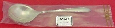 "Silver Flutes by Towle Sterling Silver Sugar Spoon 6"" New"