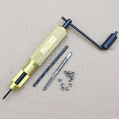 M3 x 0.5 Helicoil Thread Repair Kit Drill and Tap Insertion Tool