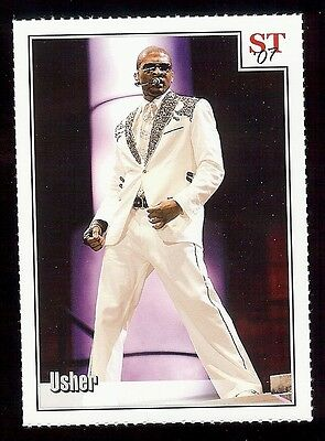 USHER 2007 Spotlight Tribute Picture Card