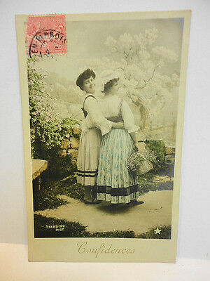 Cpa / Photo Stebbing Serie N° 1046 / Confidenses (5)  / Voyagee