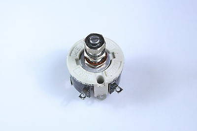 New Memcor-Truohm 3500 Ohms 25 Watt Single Turn Rheostat  RH25-3500 3.5K ohm
