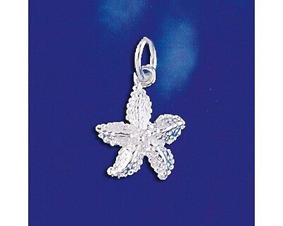 Sterling Silver Crab Pendant Italian Ocean Beach Sea Charm Solid 925 Italy New