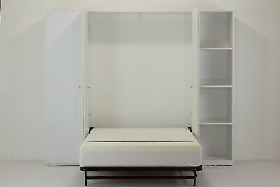 Wall bed ( Murphy bed, Folding bed, Wallbed, Hidden bed, Guest Bed ) in Wardrobe