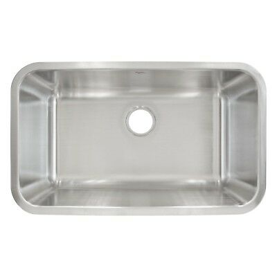 """Kitchen Sink Undermount Stainless Steel 30"""" x 10"""" Deep by LessCare L107"""