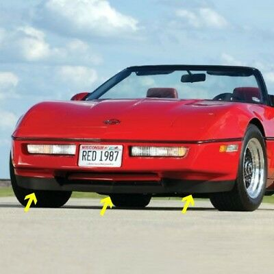 Front Spoiler Corvette C4 84 85 86 87 88 89 90 Z-51 Lower Air Dam With Hardware
