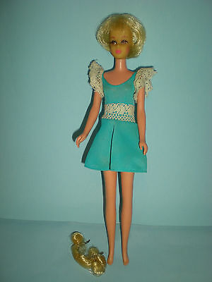 1967 Hair Happening Francie Doll  with Oiginal Dress and one Hairpiece