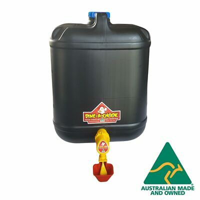20 Litre Cup Drinker / Waterer for 2-4 Layers Great for Chickens / Poultry