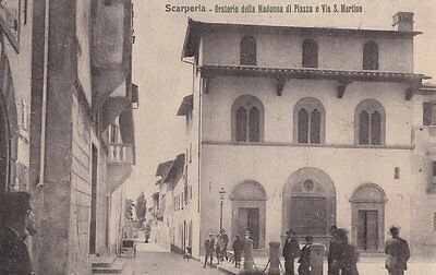 Toscana Scarperia Via S.martino Oratorio  Modiano