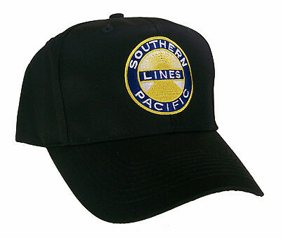Southern Pacific Railroad Embroidered Cap Hat #40-0002