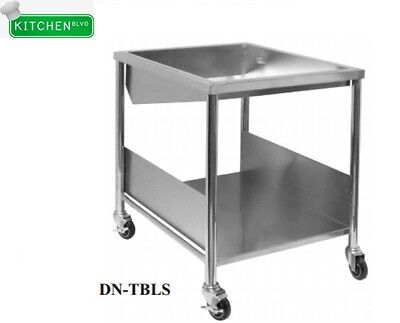 "Donut Table 34""W x 28""Lx 36""H Includes: Glazing Dipper, Sugar Pan, Bottom Basket"