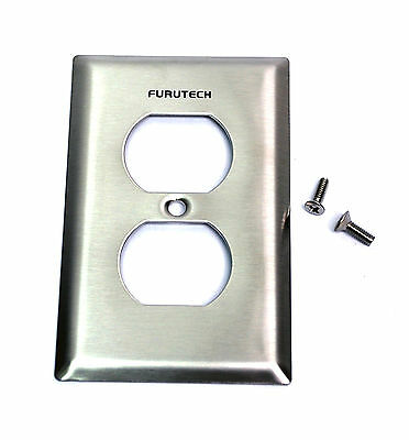 10pc AC duplex receptacle Cover Plate Outlet Cover 102-D Furutech Japan