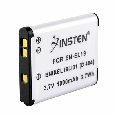 2x EN-EL19 ENEL19 Li-ion Battery for Nikon Coolpix S2500 S3100 S4100 S3300 S4300