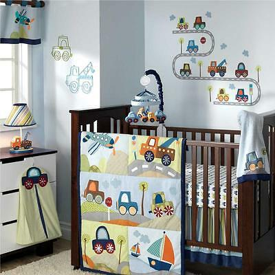 Little Traveler 7 Piece Baby Crib Bedding Set by Lambs & Ivy