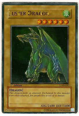 Yu-Gi-Oh! Luster Dragon 1st First Edition LOD-050 ENGLISH RARE CARDS