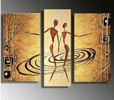 QQWE! MODERN ABSTRACT OIL PAINTING ON ART CANVAS WALL DECOR