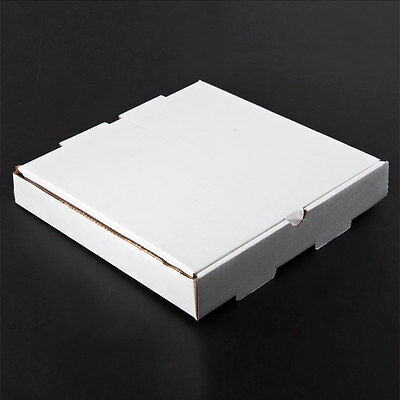 "10"" x 10"" x 1 3/4"" Corrugated Plain Pizza / Bakery Box 50/CS FAST Shipping ! *"