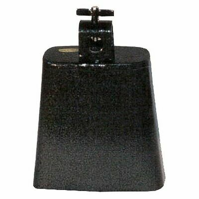 POWERBEAT Cowbell 4½ Inch Steel Black Pewter Finish *NEW* Thumbscrew Mount