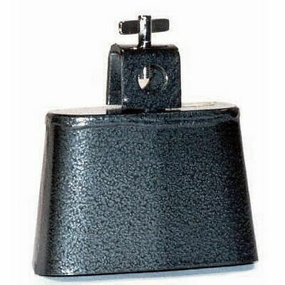 POWERBEAT Cowbell 2½ Inch Steel Black Pewter Finish *NEW* Thumbscrew Mount